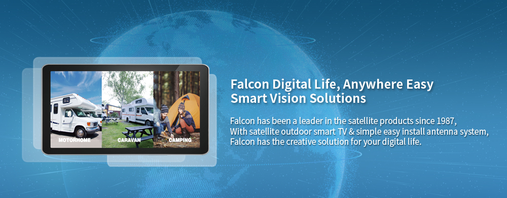 Falcon Digitial Life, Anywhere Easy smart Vision Solutions